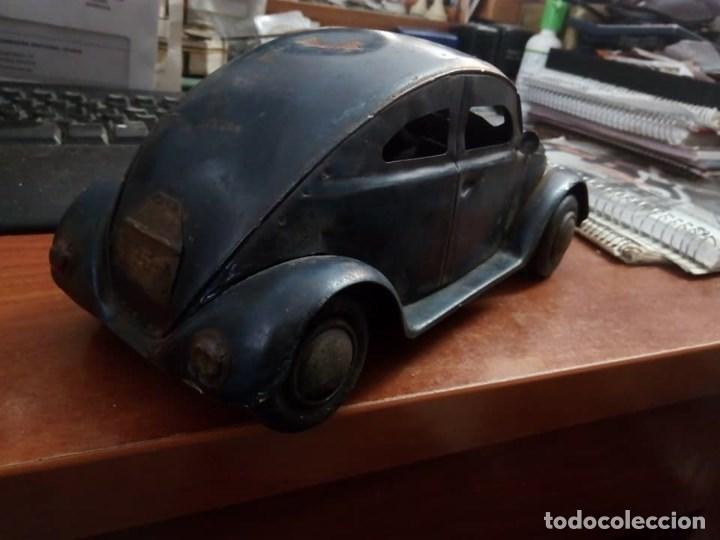 Coches: 1º PROTOTIPO MAQUETA Volkswagen BEETLE V1..1934 de FERDINAND PORSCHE para ADOLF HITLER.. único. - Foto 2 - 212564175