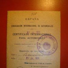Coches: RANAULT SEDAN. Lote 219399266