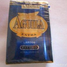 Coches: AGUILA TINERFEÑA .PAQUETE DE TABACO MUY ANTIGUO EN PERFECTO ESTADO DE CONSERVACION. Lote 222436722