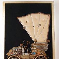 Coches: CUADRO COLLAGE FIAT 1899. Lote 222479738