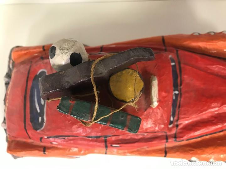 Coches: Coche Antiguo , Carton Piedra, Perfecto Estado 28 cm - Foto 9 - 223510085
