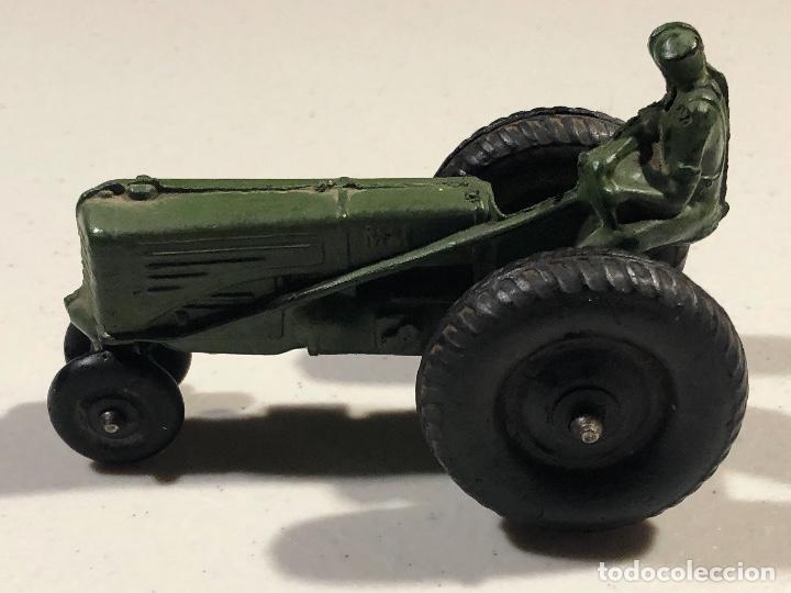 Coches: Tractor de juguete verde. Marca Auburn Rubber. Made In USA. - Foto 5 - 230790450