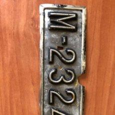 Coches: MATRÍCULA COCHE MADRID. Lote 240200055