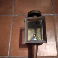Coches: ANTIGUO FAROL DE CARRO O COCHE A CABALLO O VEHÍCULO ANTIGUO. Lote 241947815