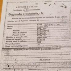Coches: FIAT TOPOLINO. Lote 242005525