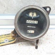 Coches: CUENTAKILOMETROS STEWART WARNER DE TAMBOR AMERICANO AÑOS 30 / 40 FORD BUICK CHEVROLET OTROS COCHES.. Lote 276015718