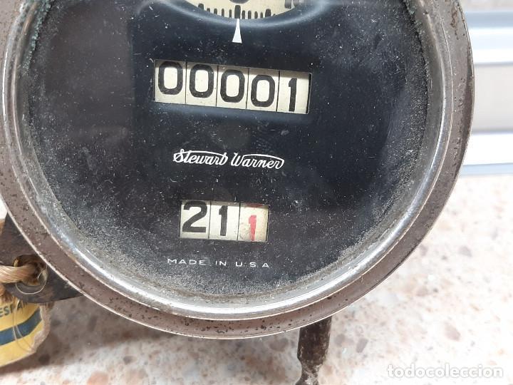 Coches: CUENTAKILOMETROS STEWART WARNER DE TAMBOR AMERICANO AÑOS 30 / 40 FORD BUICK CHEVROLET OTROS COCHES. - Foto 2 - 276015718
