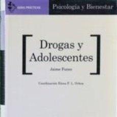 Coches: DROGAS Y ADOLESCENTES. Lote 283049373