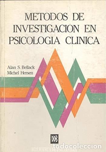 METODOS DE INVESTIGACION EN PSICOLOGIA CLINICA (Coches y Motocicletas - Coches Antiguos (hasta 1.939))
