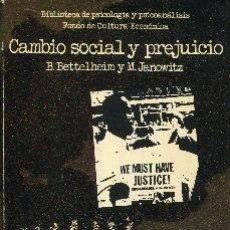 Coches: CAMBIO SOCIAL Y PREJUICIO. Lote 283905033