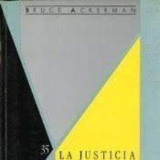 Coches: LA JUSTICIA SOCIAL EN EL ESTADO LIBERAL. Lote 283919298