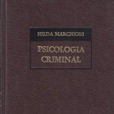Coches: PSICOLOGIA CRIMINAL. Lote 283919598