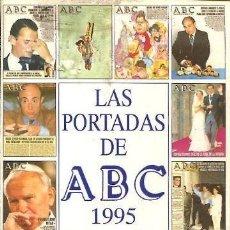 Coches: LAS PORTADAS DE ABC 1995.. Lote 283920178