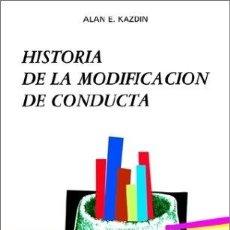 Coches: HISTORIA DE LA MODIFICACION DE CONDUCTA. Lote 283923088