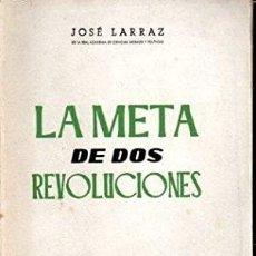 Coches: LA META DE DOS REVOLUCIONES. Lote 283924418