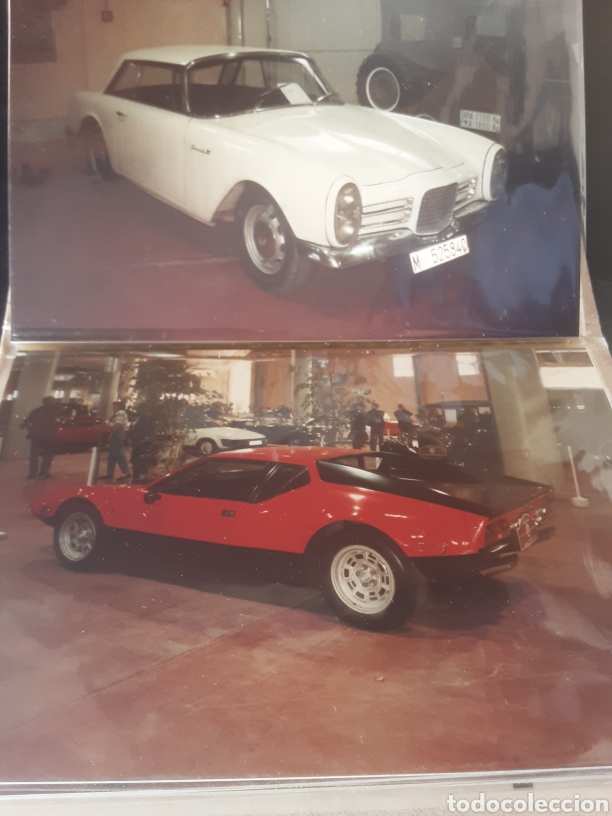 Coches: Colección de 24 fotos originales de coches antiguos (lote 2) - Foto 4 - 287414238