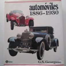 Coches: AUTOMOVILES 1886-1930. G.N.GEORGANO. EDITORIAL RAICES.. Lote 293263868