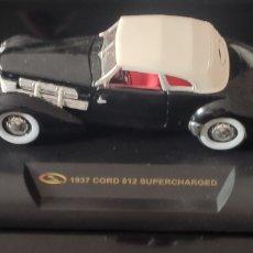 Coches: MAQUETA COCHE 1937 CORD 812 SUPERCHARGED. SIGNATURE MODELS. Lote 296622228