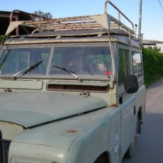 Coches: LAND ROVER 88 DESCAPOTABLE. Lote 26619499