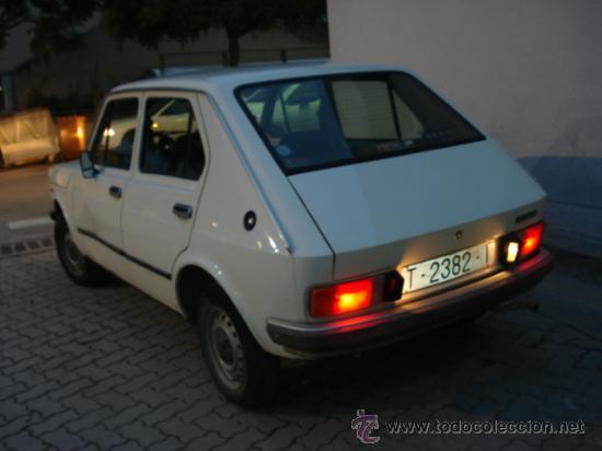 Coches: SEAT 127 CL, 900cc, DE 1979. CON ITV AL DÍA, 4 PUERTAS. - Foto 5 - 23860422