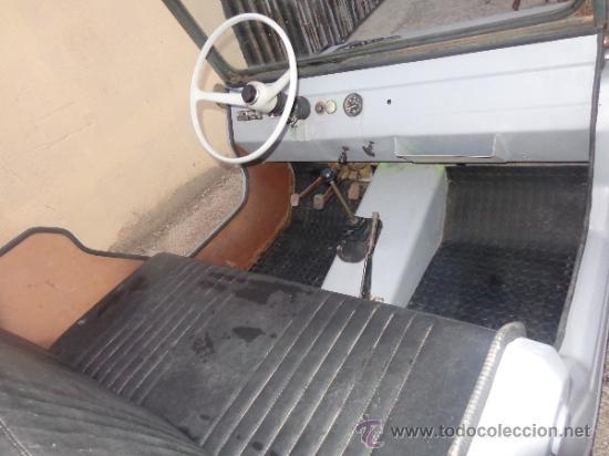 Coches: MICROCOCHE JEEP 150 MOTOR WILLIAMS AÑOS 60 CON DOCUMENTOS. - Foto 7 - 35300989