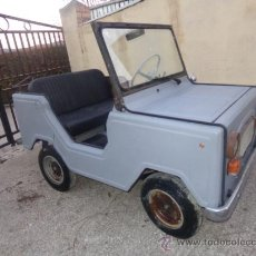 Coches: MICROCOCHE JEEP 150 MOTOR WILLIAMS AÑOS 60 CON DOCUMENTOS.. Lote 35300989