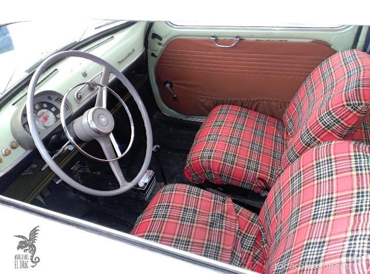 Coches: SEAT 600 B-5... UBICADO EN TERRASSA COLOR VERDE OLIVA MOTOR REPASADO - Foto 4 - 26898010