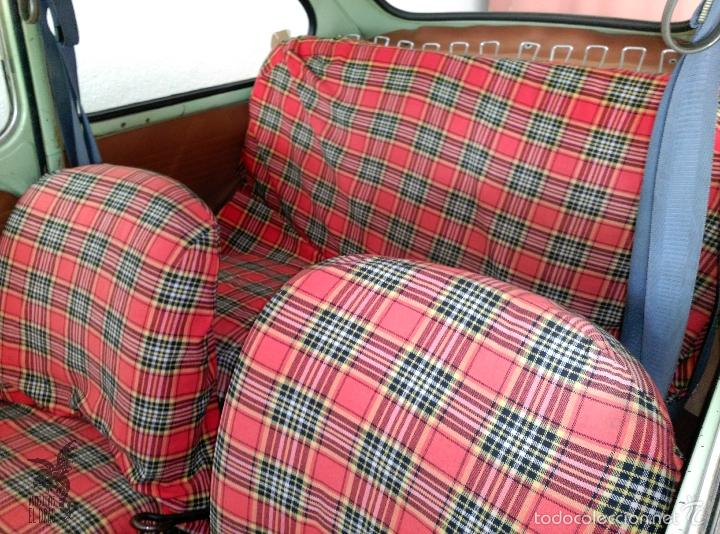 Coches: SEAT 600 B-5... UBICADO EN TERRASSA COLOR VERDE OLIVA MOTOR REPASADO - Foto 5 - 26898010