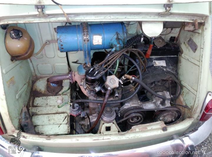 Coches: SEAT 600 B-5... UBICADO EN TERRASSA COLOR VERDE OLIVA MOTOR REPASADO - Foto 7 - 26898010