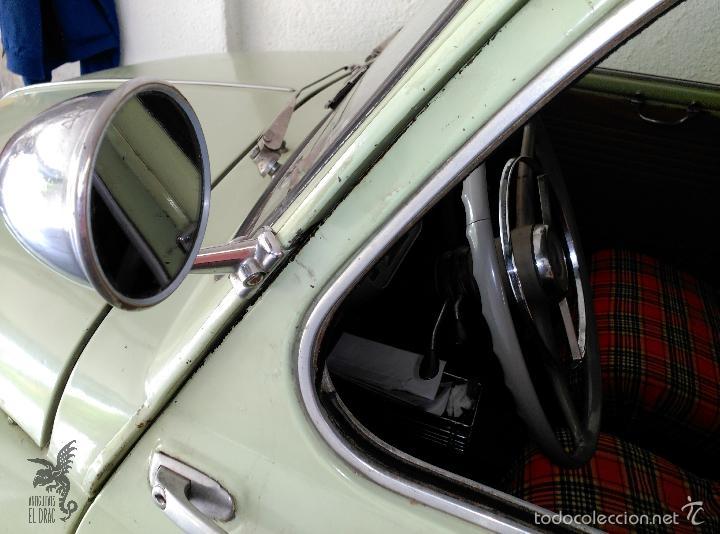 Coches: SEAT 600 B-5... UBICADO EN TERRASSA COLOR VERDE OLIVA MOTOR REPASADO - Foto 8 - 26898010