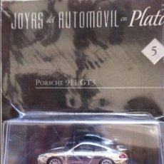 Coches: JOYAS DEL AUTOMOVIL EN PLATA 5 PORSCHE 911 GT3 ALTAYA. Lote 82481896