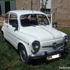 Coches: 2 SEAT 600 - MODELO D Y MODELO E. Lote 94056705