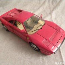Coches: FERRARI GTO DE 1984 A ESCALA 1/18 DE BURAGO. Lote 95605471