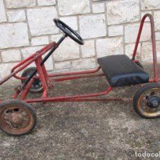 Coches: ANTIGUO COCHE A PEDALES KART. Lote 54384703