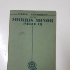 Coches: MANUAL FRANCES MORRIS MINOR SERIE II. Lote 98889054