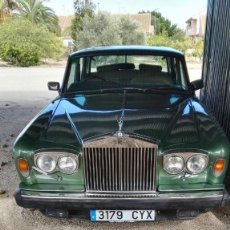 Coches: ROLLS ROYCE SILVER SHADOW 1979. Lote 105735167