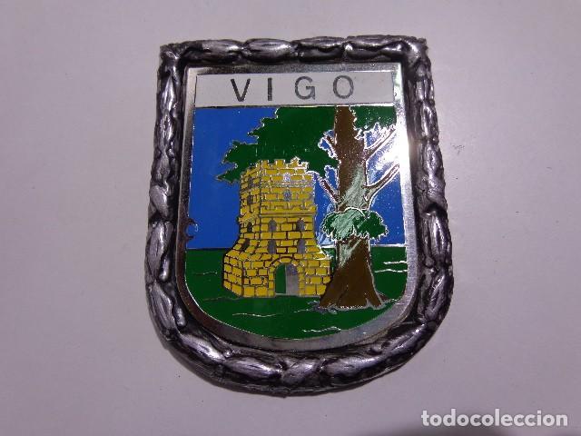 chapa placa de vigo con marco metalico años 60 - Comprar Coches ...