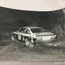 Coches: FOTO CRITERIUM GUILLERIES 1980 OPEL KADETT JUNOY PAPASEIT. Lote 112715123