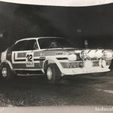 Coches: FOTO CRITERIUM GUILLERIES 1980 TALBOT 180 ALONSO-VARELA. Lote 112715255