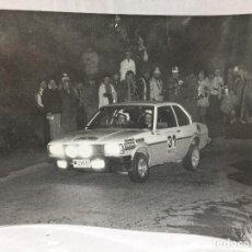 Coches: FOTO CRITERIUM GUILLERIES 1980 OPEL ASCONA LACASA BARRERAS. Lote 112715619