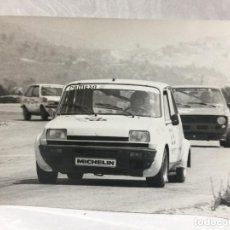 Coches: FOTO TROFEO RACC JARAMA 1979 RENAULT 5 COPA. Lote 112716579