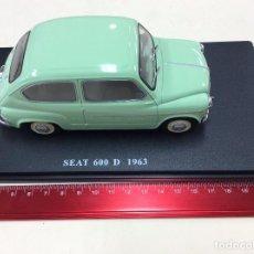 Coches: SEAT 600 D 1963 ESCALA 1-24. Lote 113325767
