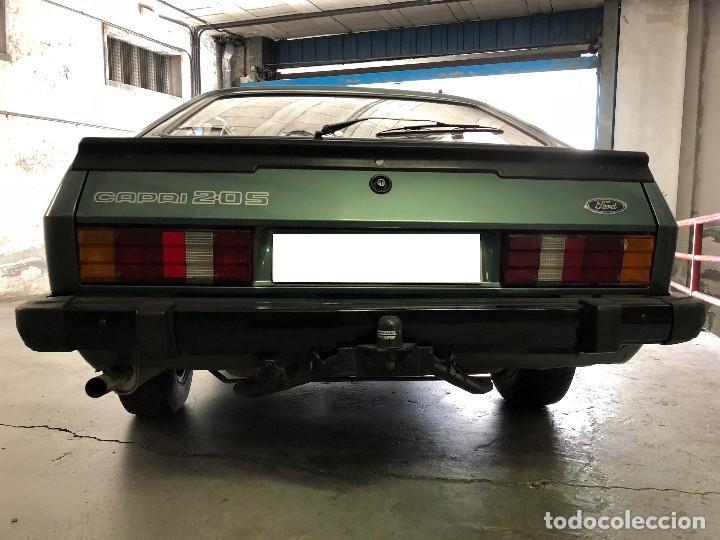 Coches: Ford Capri 2.0S 1982 Matrícula vehículo histórico - Foto 11 - 117035123