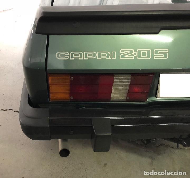 Coches: Ford Capri 2.0S 1982 Matrícula vehículo histórico - Foto 7 - 117035123
