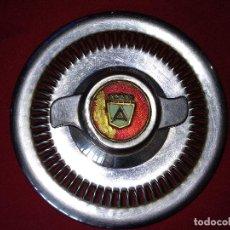 Coches: ANTIGUO TAPACUBOS, DESCONOZOCO LA MARCA DEL COCHE.. Lote 130692989