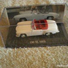 Coches: MERCEDES A ESCALA 190 SL DE 1955 NUEVO A ESTRENAR CON CAJA ORIGINAL. Lote 131046956