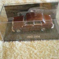 Coches: MERCEDES 180 D 1954 A ESCALA NUEVO CON CAJA ORIGINAL DE PLASTICO. Lote 131052604