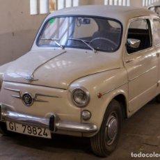 Coches: EXCELENTE SEAT 600 D DE 1968. TODO ORIGINAL, NUNCA RESTAURADO,LEER MÁS .... Lote 131485362
