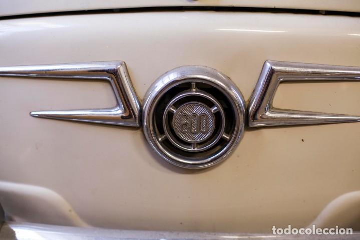 Coches: EXCELENTE SEAT 600 D DE 1968. TODO ORIGINAL, NUNCA RESTAURADO,LEER MÁS ... - Foto 3 - 131485362