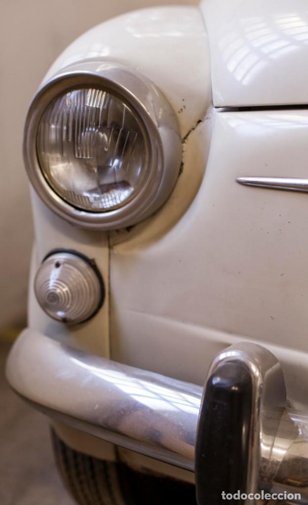 Coches: EXCELENTE SEAT 600 D DE 1968. TODO ORIGINAL, NUNCA RESTAURADO,LEER MÁS ... - Foto 4 - 131485362